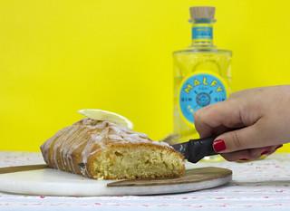 Double Gin Drizzle Slice Cake   by prettygreentea