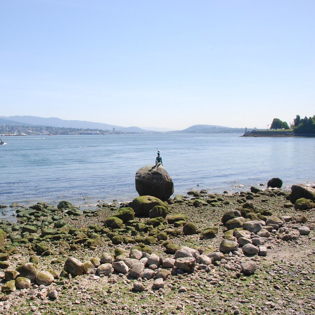 High And Low Tide Stanley Park Vancouver