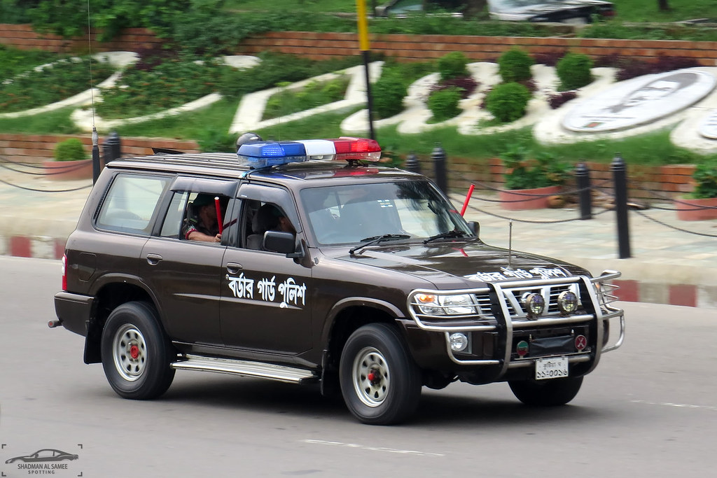 Border Guard Police Nissan Patrol Y61, Bangladesh  | Flickr