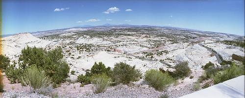 escalante rock landscape utah film 35mm horizon panorama