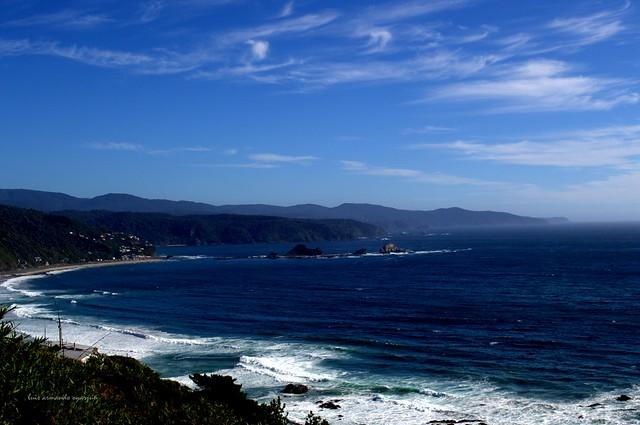 Océano Pacifico. Balneario de Pucatrihue. Osorno.