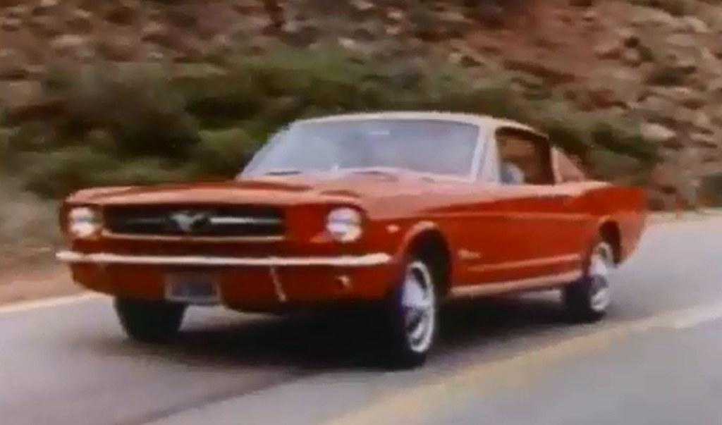 Ford Mustang Fastback >> 1965 Ford Mustang Fastback August 1964 Press Photo Flickr