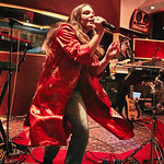 Tue, 09/05/2017 - 7:10pm - Maggie Rogers delights a room of WFUV members at Electric Lady Studios in New York City, 5/9/17. Hosted by Carmel Holt. Photo by Gus Philippas