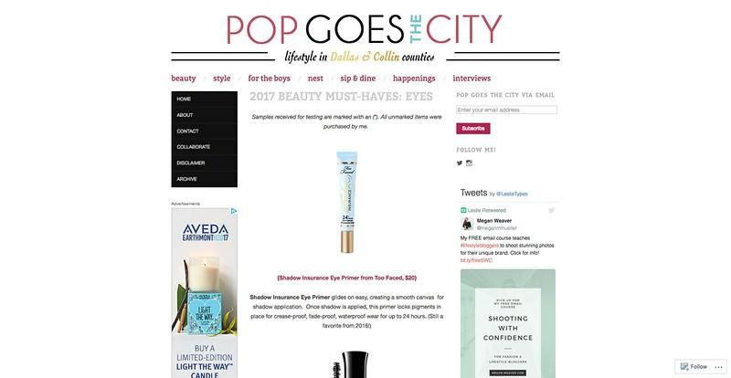 popgoesthecity.com