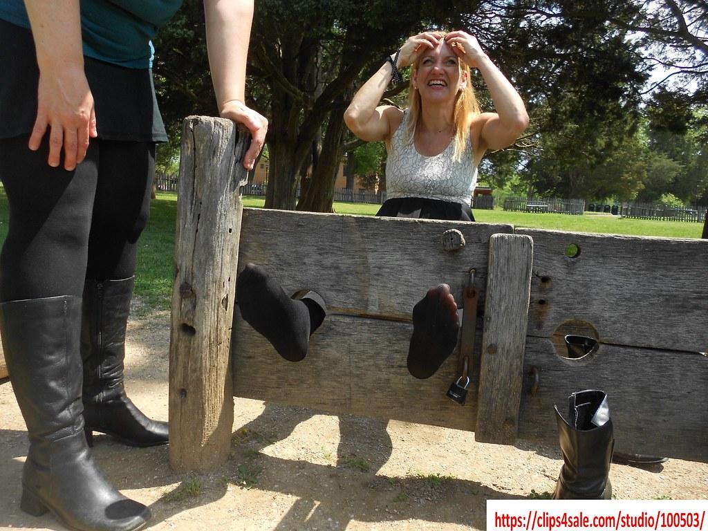 german girl feet tickle