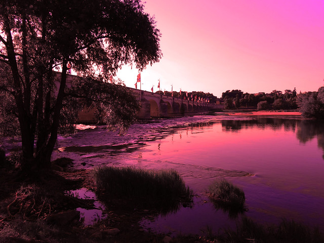 Sunset on the Loire