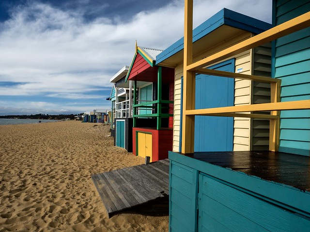 Beach huts, Mt Martha.