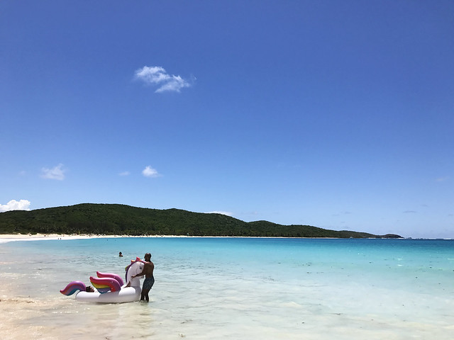 Flamenco Beach at Puerto Rico
