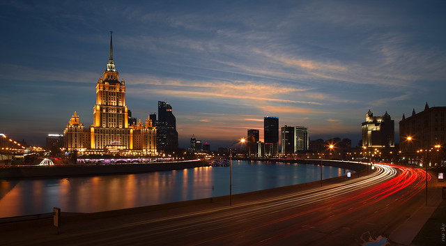 RUS61436(Big City Lights. Krasnopresnenskaya Quay)