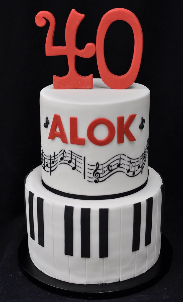 Phenomenal Musical Birthday Cake Jenny Wenny Flickr Funny Birthday Cards Online Alyptdamsfinfo