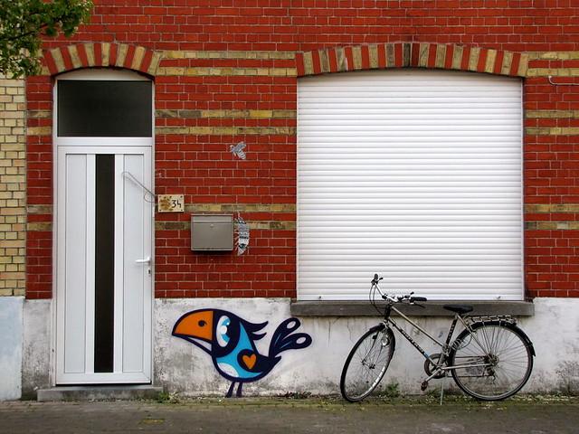 Buë the Warrior - the Crystal Ship - street art festival - Ostend - Belgium - Ostend - Belgium
