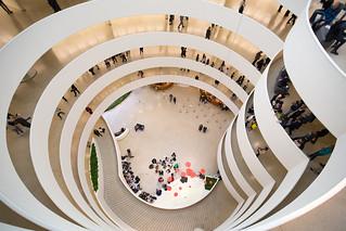 Solomon R. Guggenheim Museum   by Moody Man