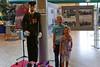 Timmi und Anni, Enkel der Familie Fost, in der Ausstellung über die spritzige Billeder Feuerwehr. Sie sind mit ihren Eltern hier und hätten ihren Großeltern am Billeder Heimattag keine größere Freude bereiten können.