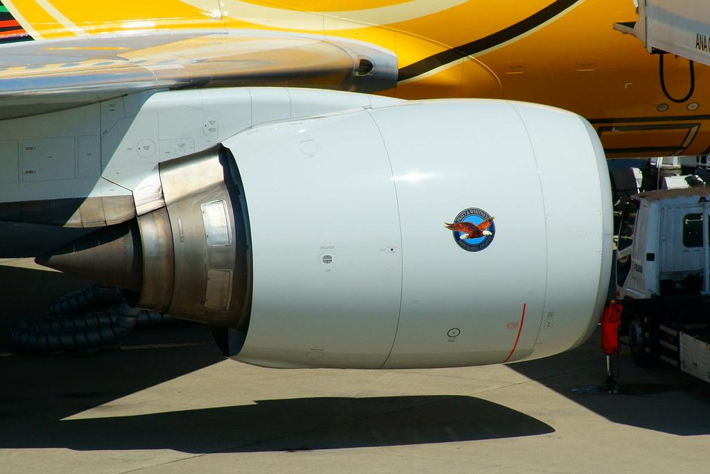 Pratt & Whitney PW4000-112 (PW4074) | Takeshi OSADA | Flickr
