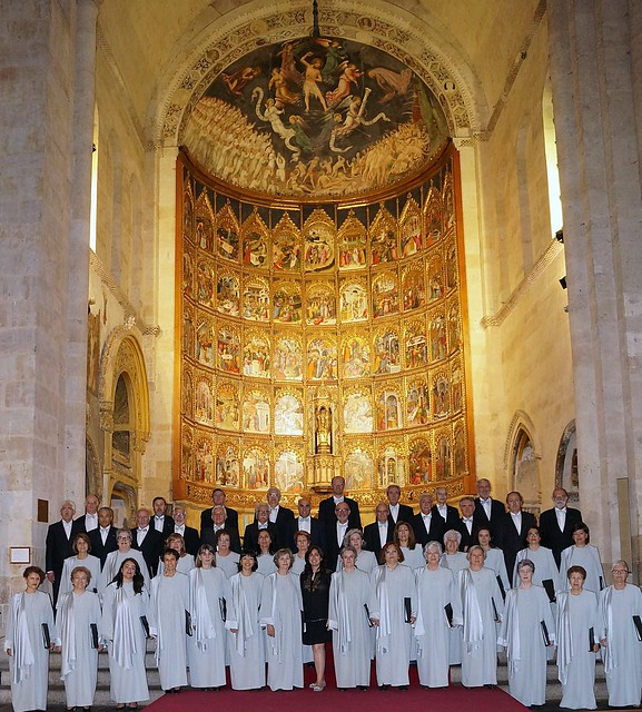 Coro Francisco Salinas de Salamanca. XXX Aniversario ( ver en grande polsando en la foto)