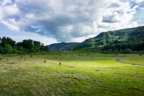 cloud clouds ecology ecosystem environment environmentalism grass hills land nature park plants scenery skies sky zürich switzerland