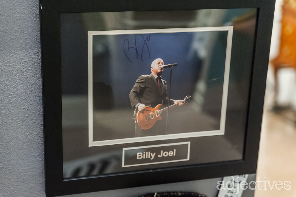 Signed photo of Billy Joel in Winter Park by Bella Fine Art & Antiques