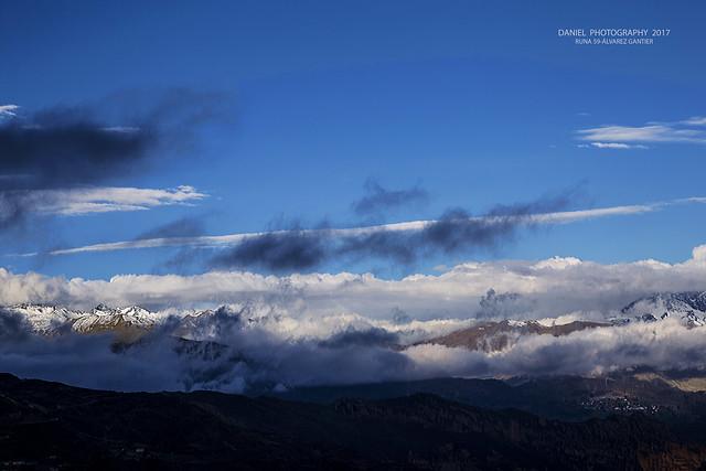 Cordillera después de la nevada