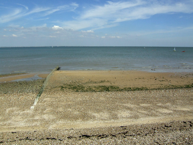 The beach near Sheerness