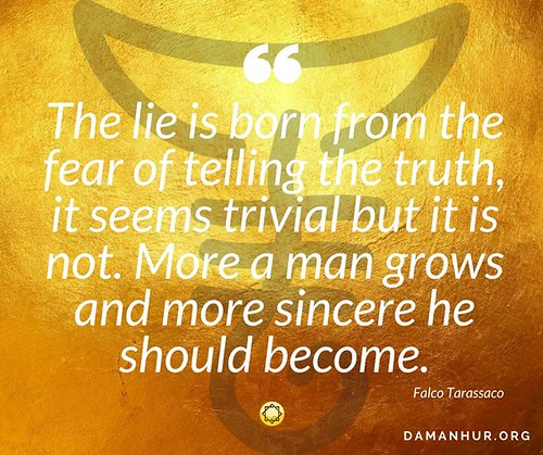 Feel free to tell your truth...