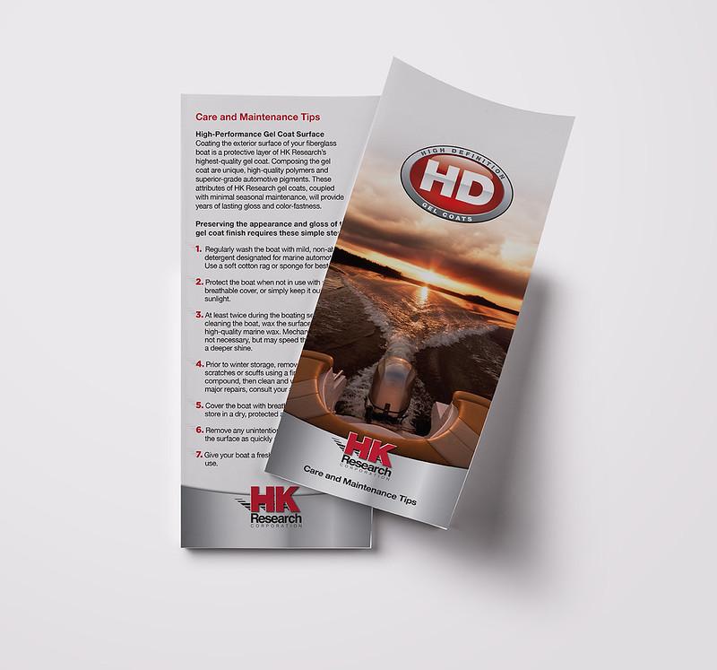 HK Research Customer Care Rack Card