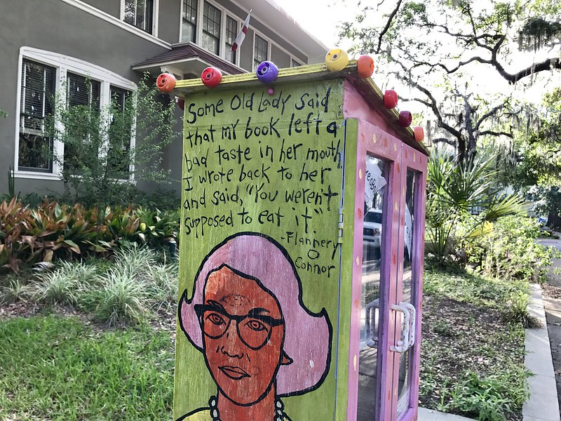 Flannery O'Connor Little Free Library