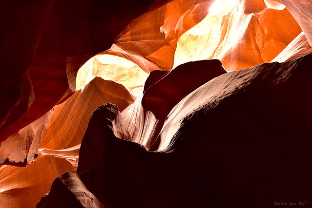 Calligraphy and colors|Upper Antelope Canyon, Arizona