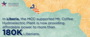 Liberia ADay infogram | by MCCgov
