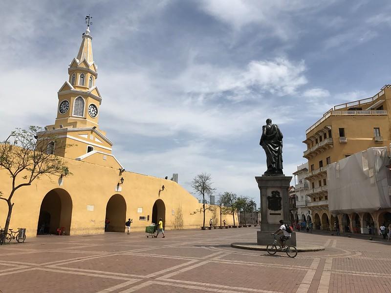 Plaza de los Coches, Cartagena, Colômbia.