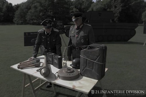 German General at Anti Tank Display