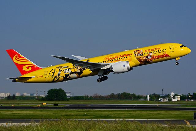 B-7302 (Hainan Airlines - KUNG FU Panda)
