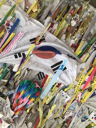 Peace ribbons at the DMZ, South Korea | by Nancie McK