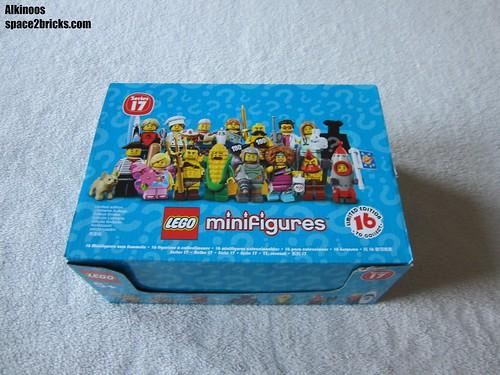 Lego minifigures S17 p1