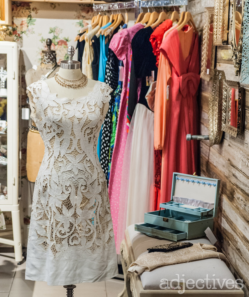 Vintage Lace Dress by Paris Market at Adjectives Winter Park