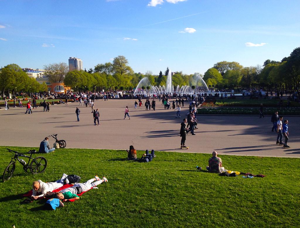 The Gorky Park (Парк Горького)