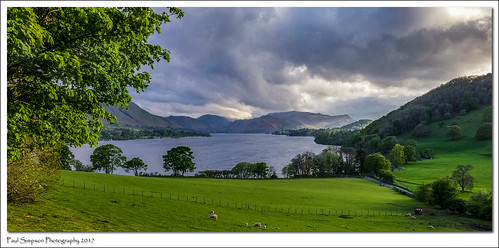 lakedistrict cumbria ullswater paulsimpsonphotography views lakeland england nature imagesof imageof photoof photosof lgg3 mountains dunmallardhill pooleybridge mobilephonephotography trees landscapes landscapeviews farmland may2017