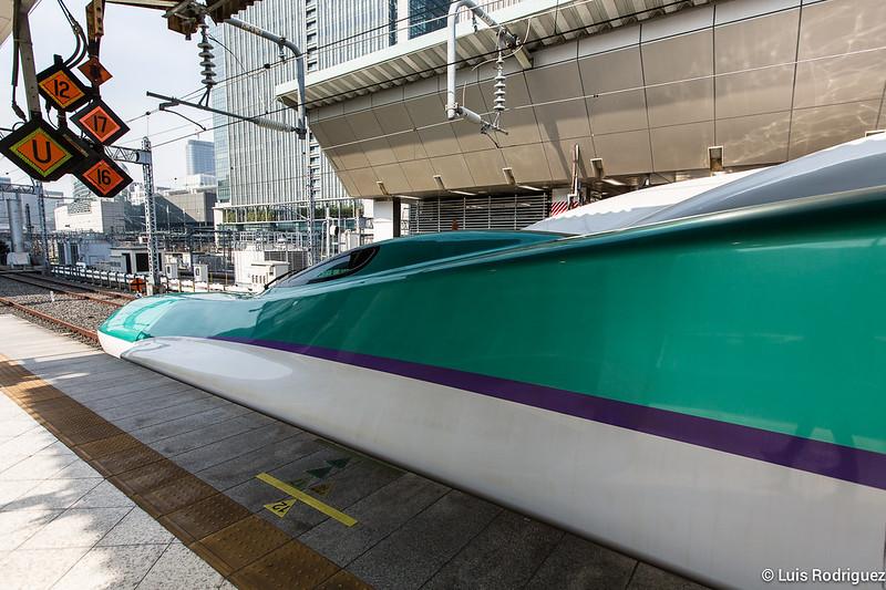Shinkansen de la serie H5, capaz de circular a 320 km/h