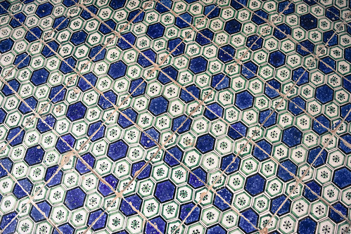 Tiled floor, Villa Rufolo, Ravello, Italy | by Gwendolyn Stansbury