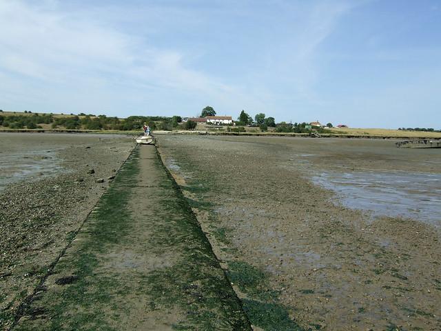 Old ferry slipway