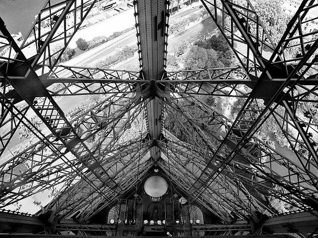 Tour Eiffel-Estructura interior