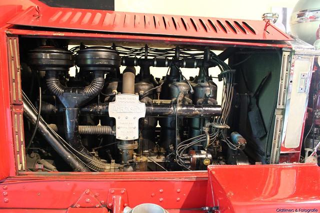1924 - Ahrens-Fox MODEL N-S-2 1000 GPM Fire Engine