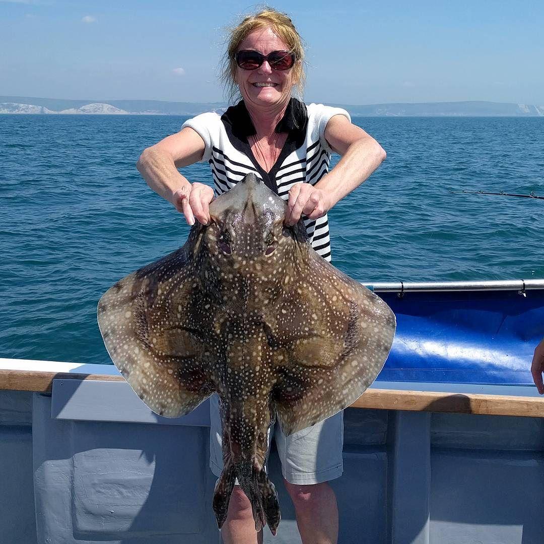 #amarisaweymouth #fishing #undulateray #weymouth