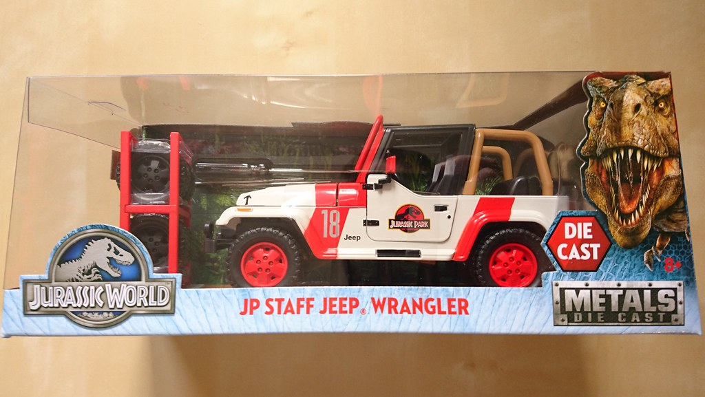Jurassic World 2017 (Jurassic Park 4) Jada Toys JP Staff J