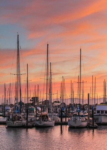 california travel usa sunset