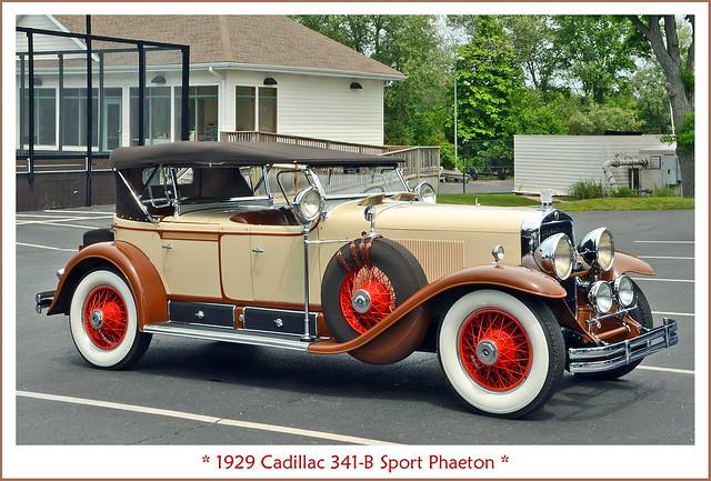 1929 Cadillac 341-B Sport Phaeton