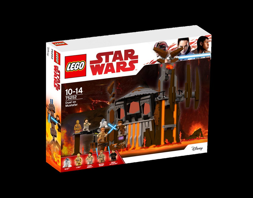 75252 Duel on Mustafar | 75252 Duel on Mustafar - $119 99 Ba… | Flickr