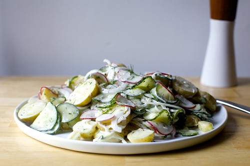 dilled potato and pickled cucumber salad | by smitten kitchen