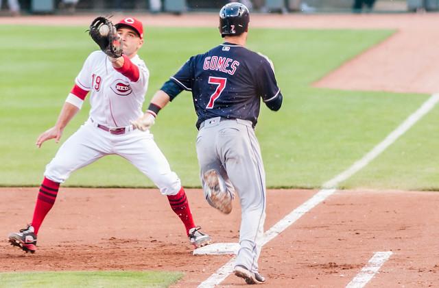 Cleveland Indians C Yan Gomes