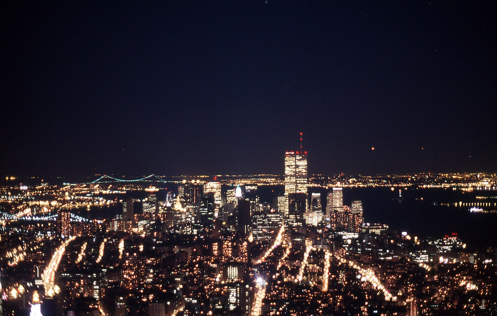 View from Empire State Building 1988