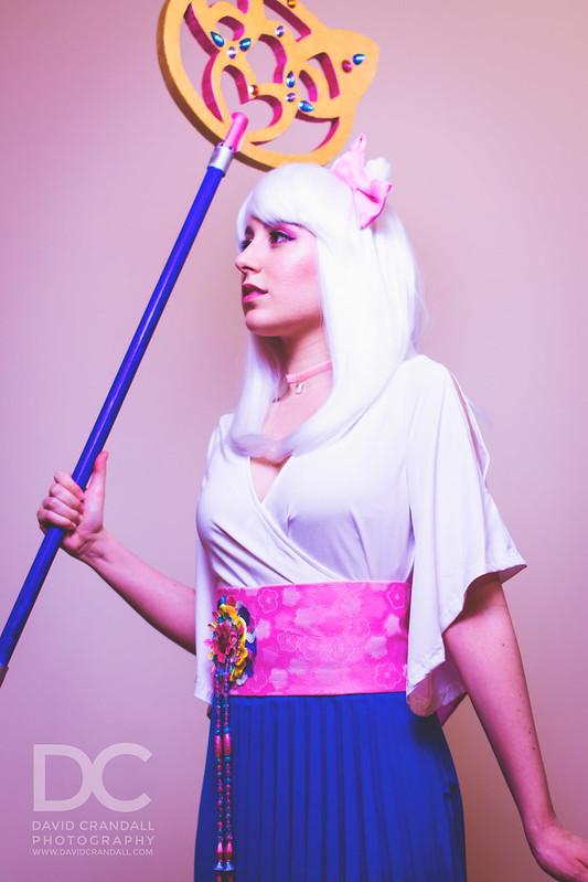 Yuna / Hello Kitty Cosplay